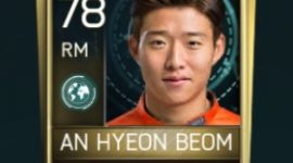 Ahn Hyeon-Beom Fifa Mobile Scouting Player