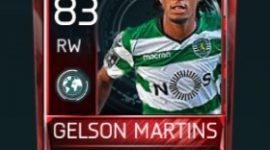 Gelson Martins Fifa Mobile Scouting Player