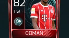 Kingsley Coman Fifa Mobile Scouting Player