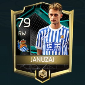 Adnan Januzaj 79 OVR Fifa Mobile La Liga Rivalries Player