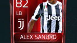 Alex Sandro 82 OVR Fifa Mobile Base Elite Player
