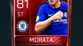 Álvaro Morata 81 OVR Fifa Mobile Base Elite Player