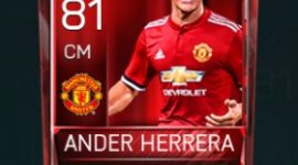Ander Herrera 81 OVR Fifa Mobile Base Elite Player
