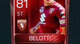 Andrea Belotti 81 OVR Fifa Mobile Base Elite Player