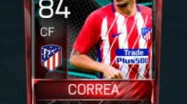 Ángel Correa 84 OVR Fifa Mobile La Liga Rivalries Player