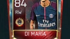 Ángel Di María 84 OVR FIfa Mobile TOP 250 VS Attack Player