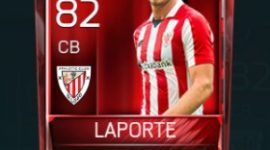 Aymeric Laporte 82 OVR Fifa Mobile Base Elite Player