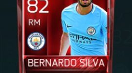 Bernardo Silva 82 OVR Fifa Mobile Base Elite Player