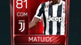 Blaise Matuidi 81 OVR Fifa Mobile Base Elite Player