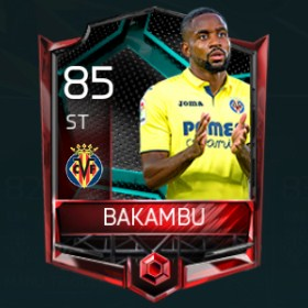 Cédric Bakambu 85 OVR Fifa Mobile La Liga Rivalries Player