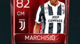 Claudio Marchisio 82 OVR Fifa Mobile Base Elite Player