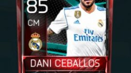 Dani Ceballos 85 OVR Fifa Mobile La Liga Rivalries Player