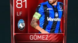 Darío Gómez 81 OVR Fifa Mobile Base Elite Player