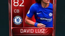 David Luiz 82 OVR Fifa Mobile Base Elite Player