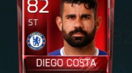 Diego Costa 82 OVR Fifa Mobile Base Elite Player