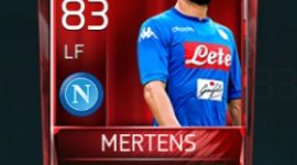 Dries Mertens 83 OVR Fifa Mobile Base Elite Player