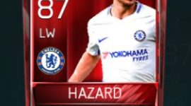 Eden Hazard 87 OVR Fifa Mobile Base Elite