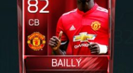 Eric Bertrand Bailly 82 OVR Fifa Mobile Base Elite Player