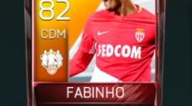 Fabinho 82 OVR Fifa Mobile TOTW Player