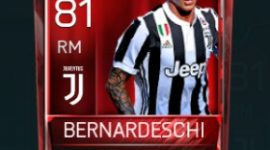 Federico Bernardeschi 81 OVR Fifa Mobile Base Elite Player