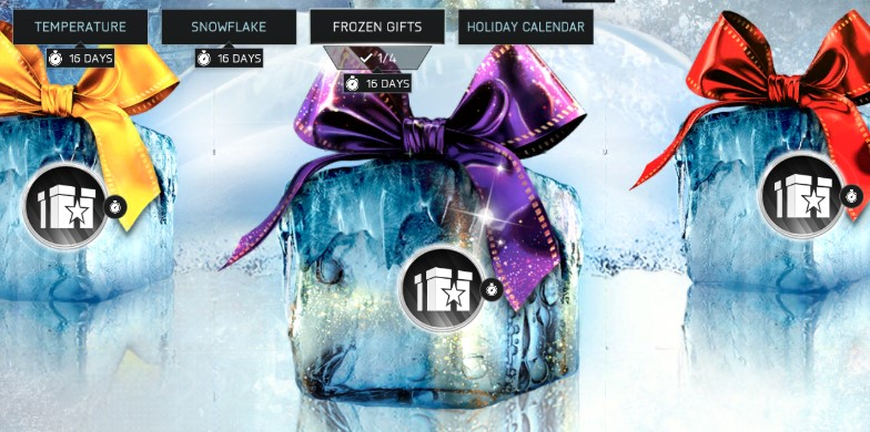 frozen gifts FIFA Mobile 18