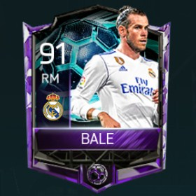 Gareth Bale 91 OVR Fifa Mobile La Liga Rivalries Player