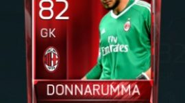 Gianluigi Donnarumma 82 OVR Fifa Mobile Base Elite Player