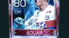 Houssem Aouar 80 OVR Fifa Mobile Football Freeze Player