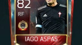 Iago Aspas 82 OVR FIfa Mobile TOP 250 VS Attack Player