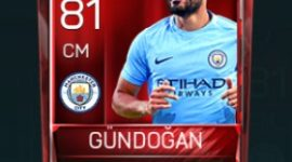 İlkay Gündoğan 81 OVR Fifa Mobile Base Elite Player