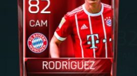 James Rodríguez 82 OVR Fifa Mobile Base Elite Player
