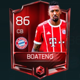 Jérôme Boateng 86 OVR Fifa Mobile Base Elite