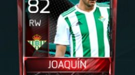 Joaquín 82 OVR Fifa Mobile La Liga Rivalries Player