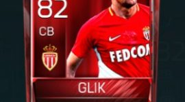 Kamil Glik 82 OVR Fifa Mobile Base Elite Player