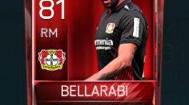 Karim Bellarabi 81 OVR Fifa Mobile Base Elite Player