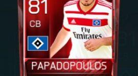 Kyriakos Papadopoulos 81 OVR Fifa Mobile Base Elite Player