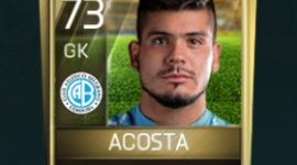 Lucas Acosta Fifa Mobile Community Favourites Player