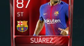 Luis Suárez 87 OVR Fifa Mobile Base Elite