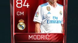 Luka Modrić 84 OVR Fifa Mobile Base Elite Player