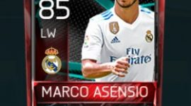 Marco Asensio 85 OVR Fifa Mobile La Liga Rivalries Player
