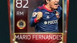 Mário Figueira Fernandes 82 OVR FIfa Mobile TOP 250 VS Attack Player