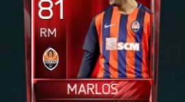Marlos 81 OVR Fifa Mobile Base Elite Player