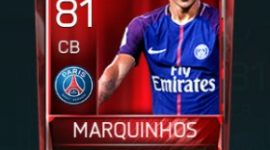 Marquinhos 81 OVR Fifa Mobile Base Elite Player