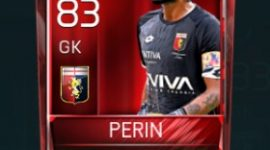 Mattia Perin 83 OVR Fifa Mobile Base Elite Player