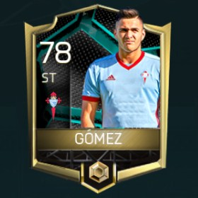 Maximiliano Gómez González 78 OVR Fifa Mobile La Liga Rivalries Player