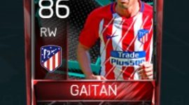 Nicolás Gaitán 86 OVR Fifa Mobile La Liga Rivalries Player
