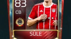 Niklas Süle 83 OVR FIfa Mobile TOP 250 VS Attack Player