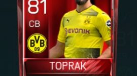 Ömer Toprak 81 OVR Fifa Mobile Base Elite Player