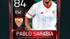 Pablo Sarabia 84 OVR Fifa Mobile La Liga Rivalries Player