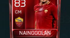 Radja Nainggolan 83 OVR Fifa Mobile Base Elite Player